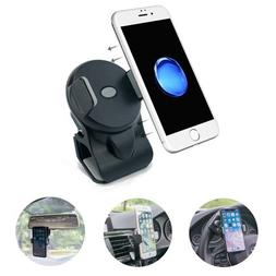 micagos Cell Phone Holder for Car, 3-in-1 Car Phone Mounts,