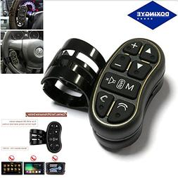DOXINGYE Car Steering Wheel Buttons Controller Wireless Remo