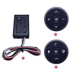 Qiming Star Car Steering Wheel Buttons Controller Wireless R