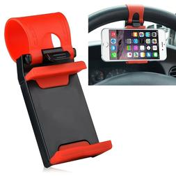 Car Steering Wheel Clip Mount Holder Cradle Stand For iPhone