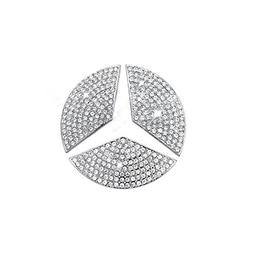 Car Steering Wheel Decorative Stickers For Mercedes-Benz 201