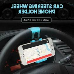car steering wheel phone holder universal clip