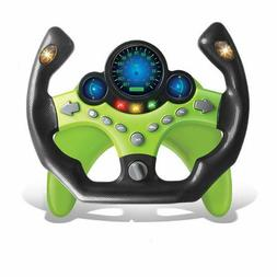Children Pretend Play Simulation Steering Wheel Kids Racing