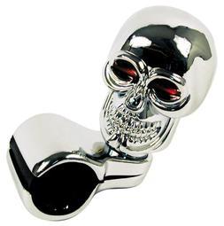 Chrome Skull Style Cool Steering Wheel Spinner Suicide Knob