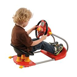 CP Toys Battery-operated Sit On Simulated Driver with Moving