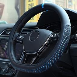 D Cut Steering Wheel Cover - D Shaped Flat Bottom Microfiber