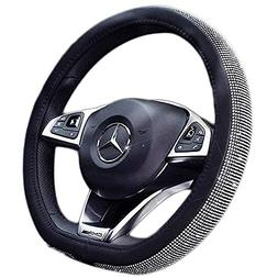 ESKONKE D Type Car Steering Wheel Cover for Ms. Aristocracy