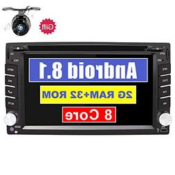 Eunavi 2 Din in Dash Car Stereo with Navigation Android 8.1
