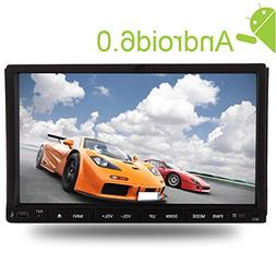 7inch Double Din Car Stereo with Latest Android6.0 Mashmallo
