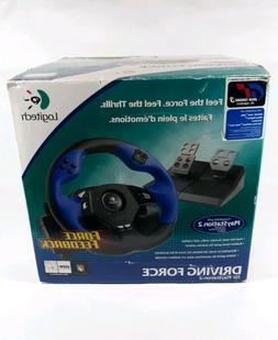 Logitech Driving Force for PS2 & PS3 PlayStation Complete St