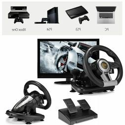 Driving Racing Game Steering Wheel Braking Pedal For PC PS3