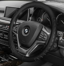 FH Group FH2006BLACK Steering Wheel Cover