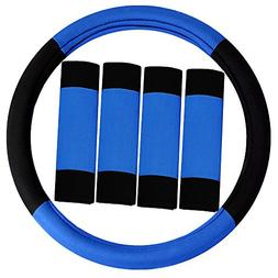 FH Group FH2033BLUE Steering Wheel Cover