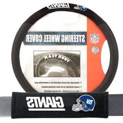 Fremont Die FMT-93175 New York Giants NFL Steering Wheel Cov