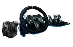 Logitech G920 Driving Force Racing Wheel + Logitech G Drivin
