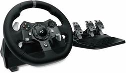 Logitech G920 Driving Force Steering Wheel of Racing and Ped