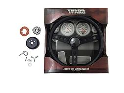 Grant steering wheel and install kit fits 76 THRU 1995 JEEPC