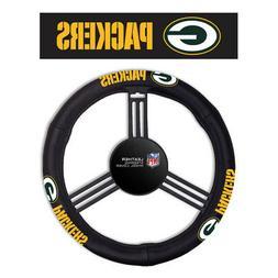 Green Bay Packers Fremont Die NFL Leather Steering Wheel Cov