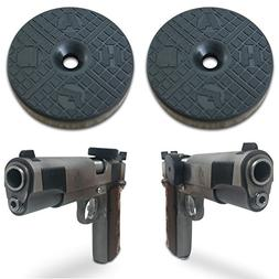 2-Pack | TACTICON HALO Gun Magnet 25 lb Rated | Adhesive Mag