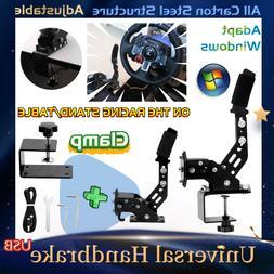 Handbrake USB for Racing Simulator Steering Wheel Stand Logi