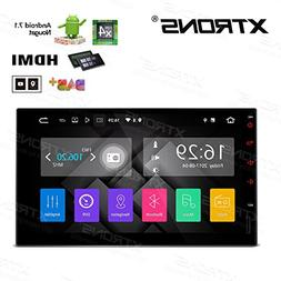 XTRONS HDMI Android 7.1 Quad Core 7 Inch HD Digital Touch Sc