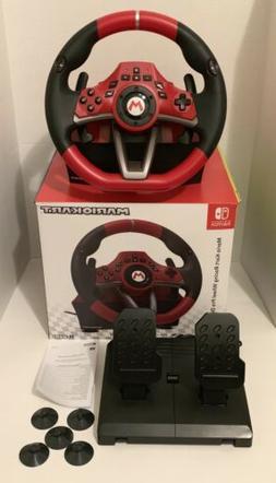 Hori Steering Wheel Mario Kart pro Deluxe  With Pedals USB