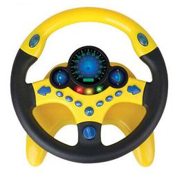 Imitate Copilot Simulated Driving Steering Wheel Portable Pr