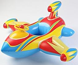 Inflatable Airplane Baby Kids Toddler Infant Swimming Float