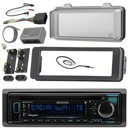 98-2013 Kenwood Harley Touring Install Adapter Dash Kit FLHT