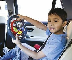 Kids Interactive Sound & Light Sat Nav Steering Wheel Toy Li