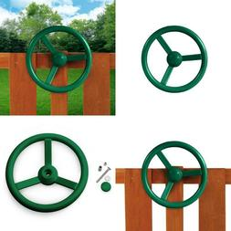 Kids Toy Steering Wheel Swing Playset Attachment Accessory P