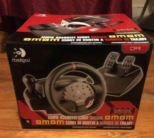 2004 momo racing steering wheel with pedals