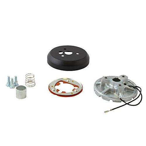 5 /& 6 Hole Matte Black Hub Adapter Installation Kit B02 for Aftermarket Steering Wheels