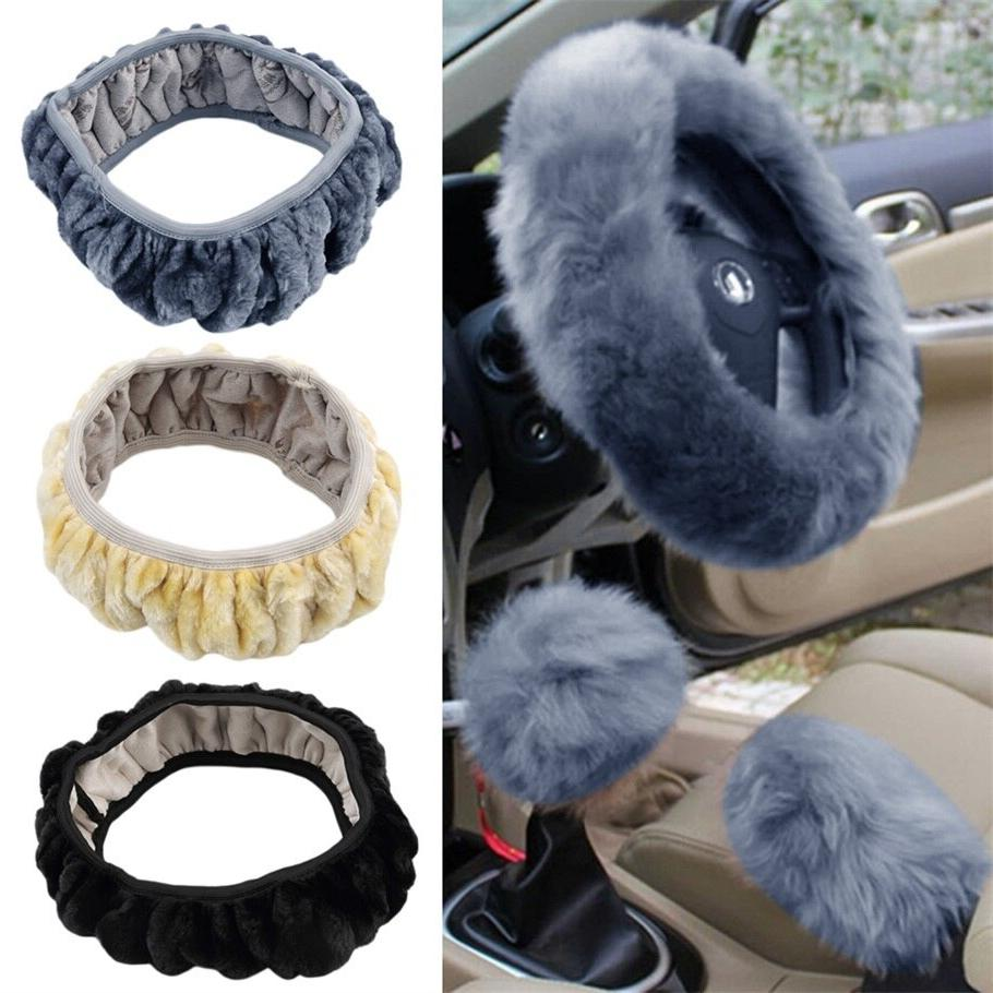 3 pcs set charm warm long wool