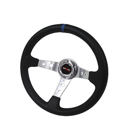 350mm deep dish 6 bolt steering wheel