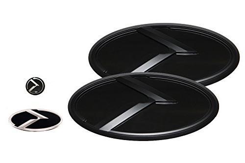 3d k logo emblem black and black