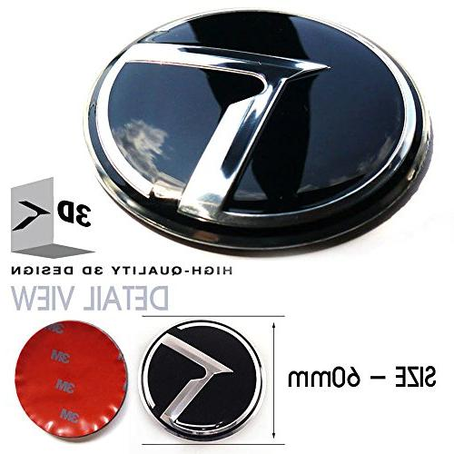 3D K Logo Emblem Edition + + Steering Wheel + Wheel +