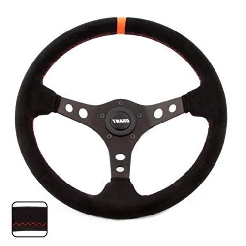 699 suede wrapped racing steering wheel