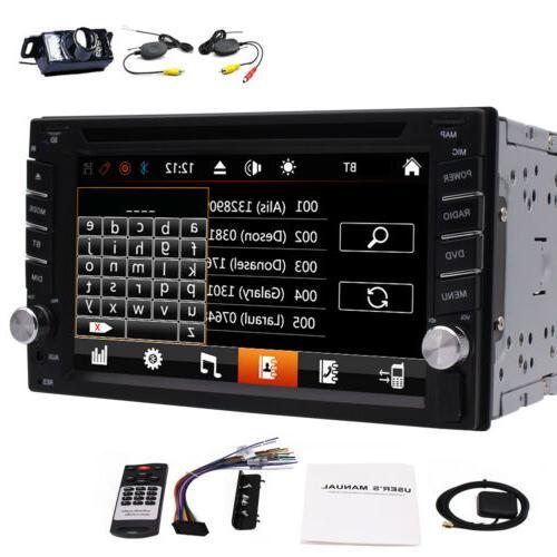 7'' 2Din Steering Navi Bluetooth + Camera