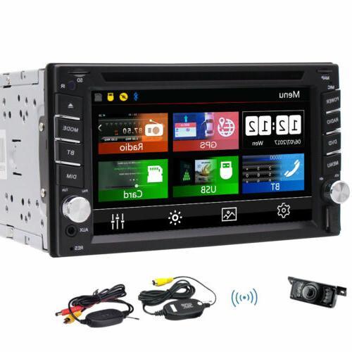7'' Car Steering GPS Navi Bluetooth HD 1080P +