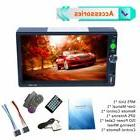 7inch Car MP5 Touch Screen Rear View Bluetooth FM Radio Mult