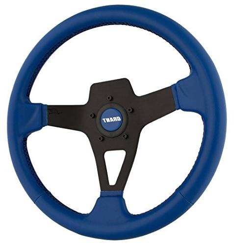 8526 edge series steering wheel blue vinyl