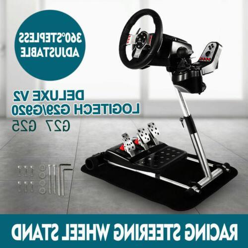 Adjustable Racing Steering Wheel Stand for Logitech G27 G25