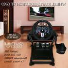 Racing Simulator Steering Wheel Stand Video