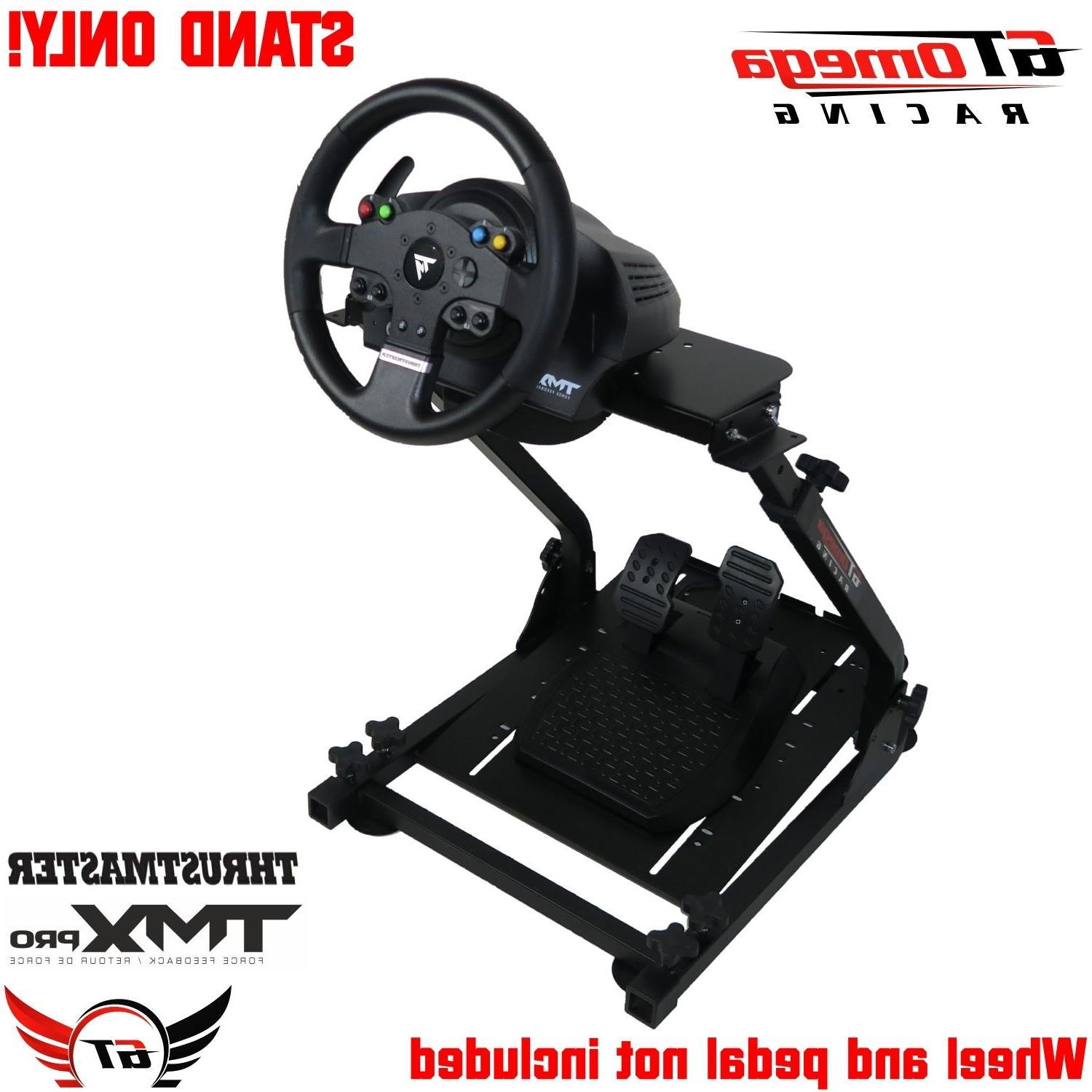Gt Omega Steering Wheel Stand Pro For Thrustmaster Tmx Racin