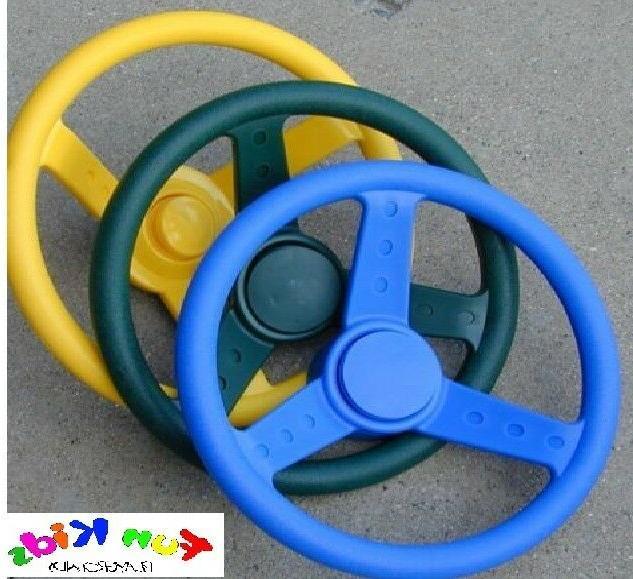 Gorilla Playsets Steering Wheel Color: Yellow