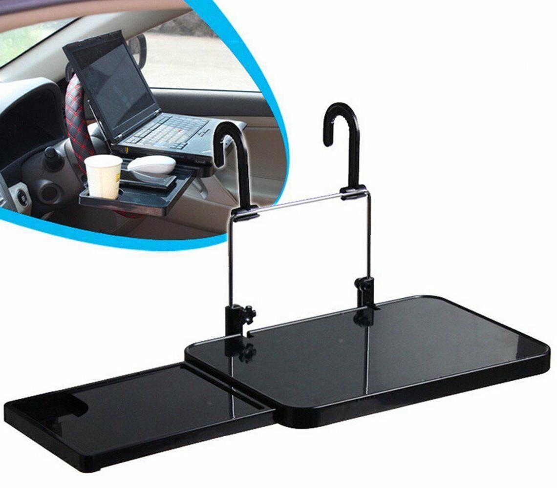 Laptop Steering Wheel Desk Auto Car Computer Mount Holder Ea