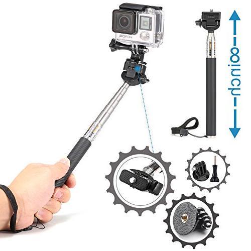 Luxebell AKASO EK5000 WiFi Camera Hero 7 Sliver Hero