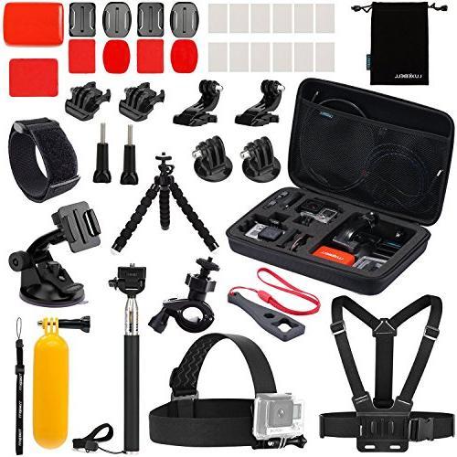 AKASO EK5000 4K WiFi Action Camera Fusion Black Sliver Hero 4/3+/3/2/1
