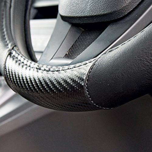 Motor GripDrive Carbon Fiber Steering Wheel Cover